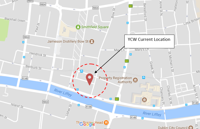 Ycw Ireland Location